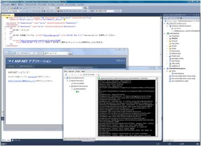 図3 Windows Azure開発環境