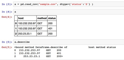 図2 CSVデータの取り込み