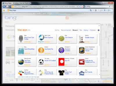 図1 Map App Gallery