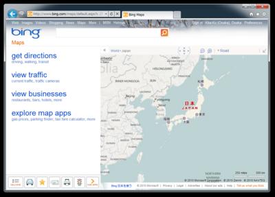 図1 Bing Maps