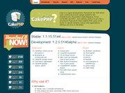 CakePHP 本家サイト(英語)
