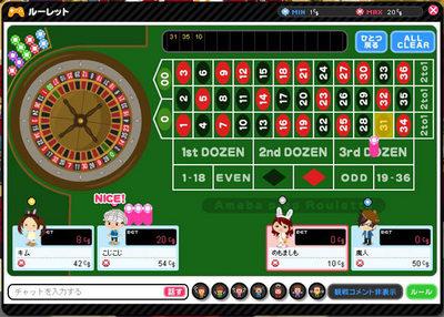 図1 アメーバピグのカジノゲーム