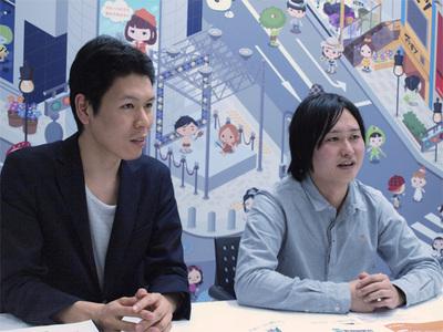 (左から)深澤宏仁氏,鈴木俊裕氏