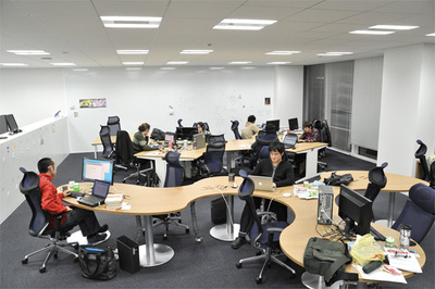 Ameba Technology Laboratoryのオフィスのようす