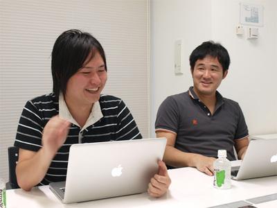 (左から)鈴木俊裕氏と善明晃由氏
