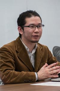 写真1 斉藤祐也氏