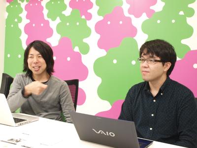 写真1 (左から)坂本氏,長谷部氏