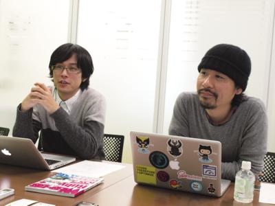 写真 船ヶ山慶氏(左)と平木聡氏(右)