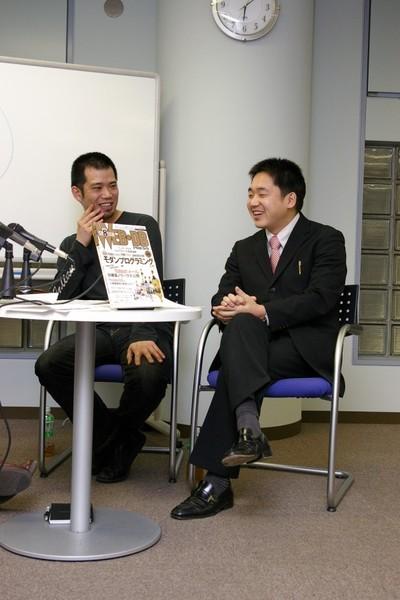 左から,橋本さん,栗原さん