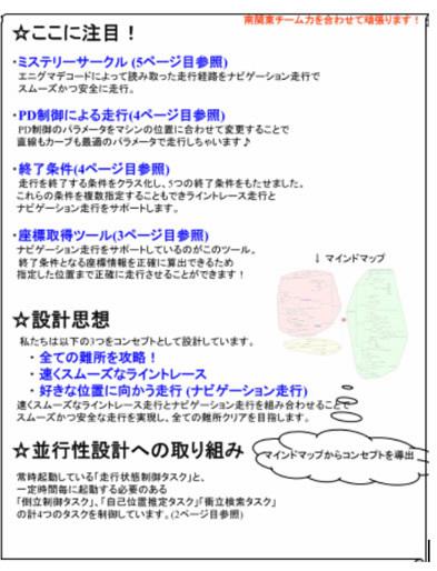図1 コンセプトシート(モデル紹介パート)の例