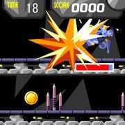 ミサイル衝突