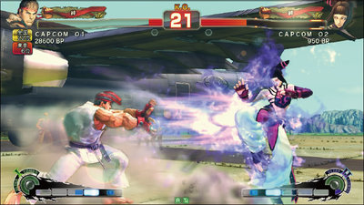 図1 SUPER STREET FIGHTER IV ARCADE EDITION