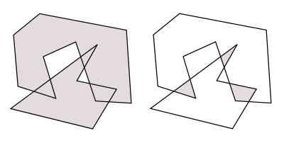 図2 一般のブーリアン演算