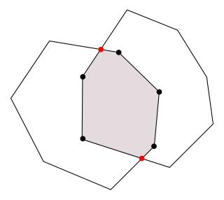図4 交差計算結果の頂点