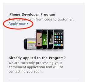 iPhone Dev Center