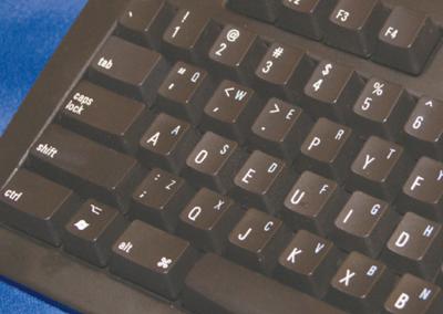 写真2 Matias Dvorak Keyboardのキートップ