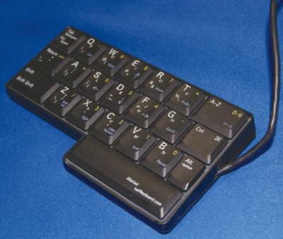 写真4 Matias Half Keyboard