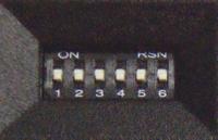 写真4 DIPスイッチ