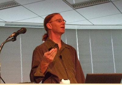 Jon Corbet氏(LinuxCon Japan/Tokyo 2010にて)