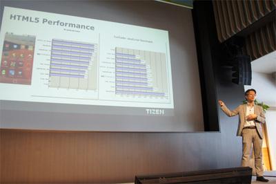 TizenはFacebookのリングマークテストでベストの成績を収めたとのこと。素性の良いHTML5環境として期待されます