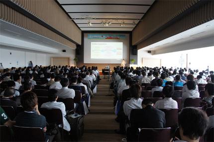昨年のLinuxCon(LinuxCon 2012 Tokyo)の模様