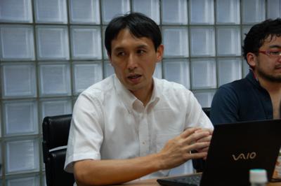法林浩之氏(日本UNIXユーザ会)