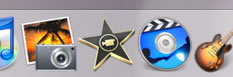 図1-3 iMovie '08のアイコン