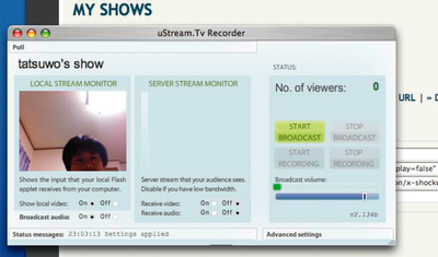 図9-1 Ustream.tv(旧)