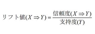 図3 リフト値の計算式