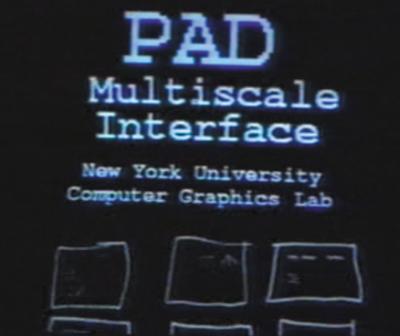 図1 ZUI(Zooming User Interface)システム