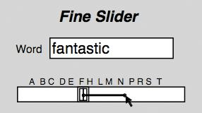 図4 FineSlider