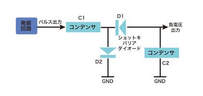 図5 負電源発生回路