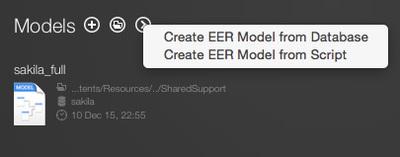 図9 Create EER Model