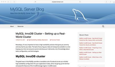 図1 MySQLサーバー開発チームのブログ