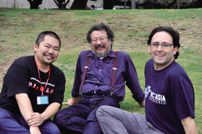 左から,牧大輔(DMAKI)さん,小飼弾(DANKOGAI)さん,Jesse Vincent(JESSE)さん