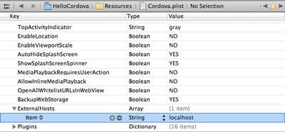 ExternalHostsにlocalhostを追加