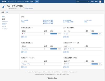 図1 アトラシアンが開発したプロジェクト管理ツールである「JIRA」。Webアプリケーションとして動作し,各ユーザはWebブラウザを使ってアクセスする