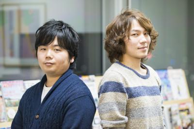 写真1 山下芳生氏(左)と吉田拓真氏(右)