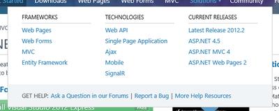 図 ASP.NETファミリー入りを果たしたSignalR