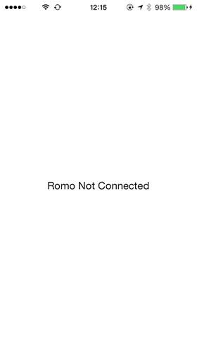 Romoと接続しないと確認できないようです