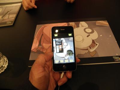 「モバイルオーサリングツール」は,スマートフォン上で簡単にARコンテンツを作成できる