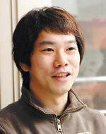 遠崎寿義さん。代表取締役兼社長でクリエイティブディレクター(写真:上松尚之)