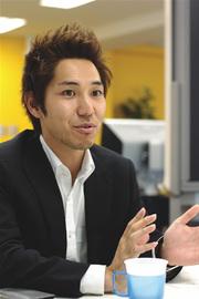取締役の田村 哲也さん。(写真:上松尚之)