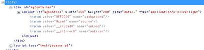 IE Developer ToolbarやFirebugを使って,出力された要素を確認することができる