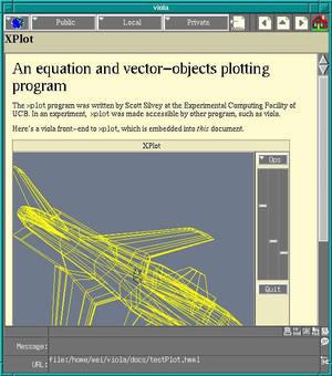 ViolaWWW developed by Wei