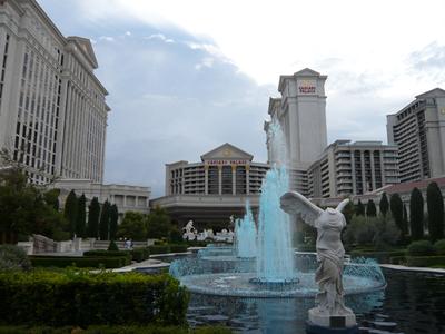 会場となったホテル Caesars Palace