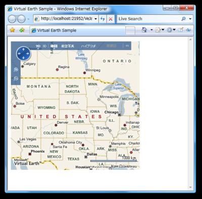 図2 マップの表示
