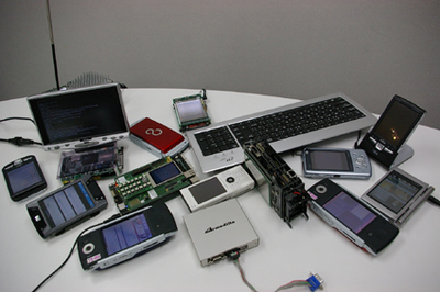これら多くの機器に平林さんが開発されたWideStudio/MWTが組み込まれています。詳しくはVol.5で!