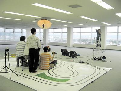 撮影場所は鳥取市街が見渡せる展望で,広いです。