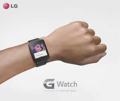 シンプルなデザインが特徴のLG G Watch